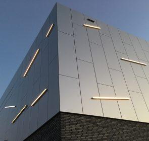 Neckarhalle Lichtkunst