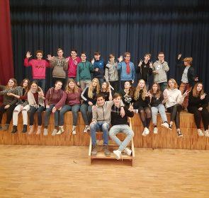 Teilnehmende Theatergruppe